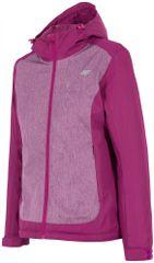 4F damska kurtka narciarska H4Z17 KUDN001 fiolet purpurowy