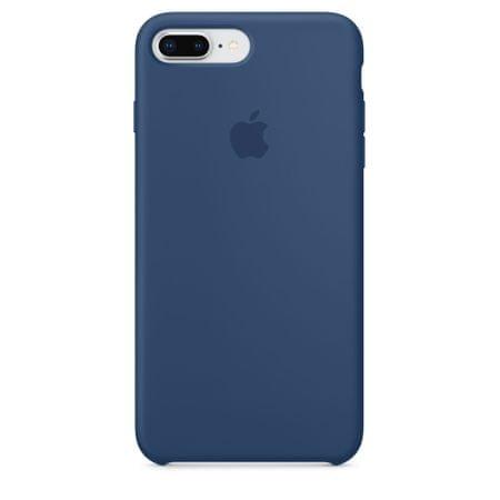 Apple Bőr tok, Apple iPhone 8 Plus / 7 Plus, MQHL2ZM/A, Midnight Blue