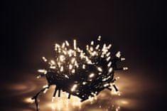 Seizis LED osvetlenie 180 nábojových žiaroviek, teplá biela