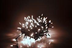 Seizis LED osvetlenie 180 nábojových žiaroviek, biela