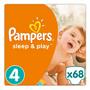 3 - Pampers Pelenka Sleep & Play 4 Jumbo Pack (9-14 kg) 68 db
