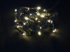 Seizis LED osvětlení s časovačem 40 žárovek, teplá bílá