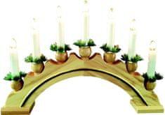 Seizis Elektrický svietnik oblúk, 7 žiaroviek