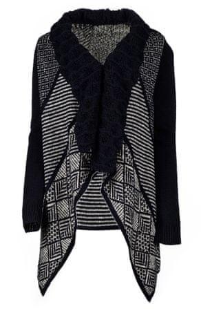 Desigual ženski pulover Menta XS temno modra