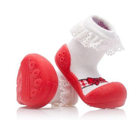 Attipas lány gyerekcipő Ballet Red 19 fehér/piros
