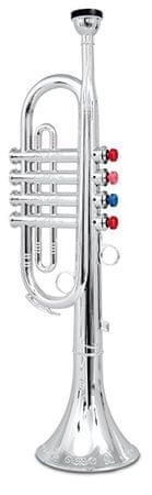 Alltoys Ezüst trombita 4 szelepek