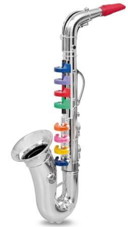 Alltoys Saxofon 8 notes 42 cm