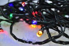 Solight vonkajšia vianočná reťaz 200 LED 20 m, viacfarebná - rozbalené