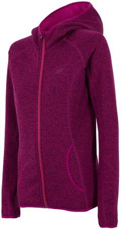024f8e21146e5 4F Damska bluza H4Z17 PLD002 fiolet purpurowy S | MALL.PL