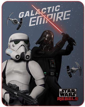 CTI flis odeja Star Wars Dark Side, 110x140 cm