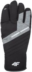 4F męskie rękawice narciarskie H4Z17 REM002 czarny