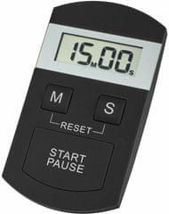 TFA Minutka časovač a stopky barva černá - rozbaleno