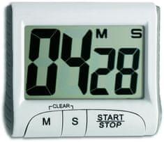TFA Minútka časovač a stopky farba biela