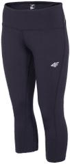 4F Damskie spodnie do fitnessu H4Z17 SPDF001 czarny