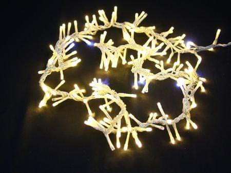 Seizis łańcuch LED, 1,5 m, 200 żarówek, ciepły biały