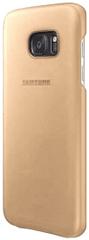 SAMSUNG bőr tok S7-hez (G930), bézs