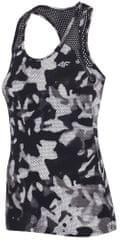 4F damska koszulka sportowa H4Z17 TSDF001 allover czarno-biały
