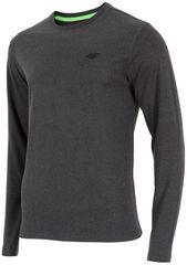 4F koszulka z długim rękawem H4Z17 TSML001 ciemny szary melanż