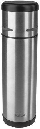 TEFAL MOBILITY termosz 0,5 l rozsdamentes acélból, fekete