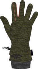 4F damskie rękawice narciarskie H4Z17 RED003A brąz