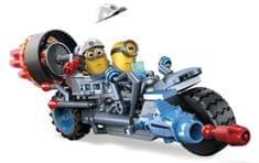 MEGA BLOKS Mimoňovia rýchle vozidlo Chaotická motorka