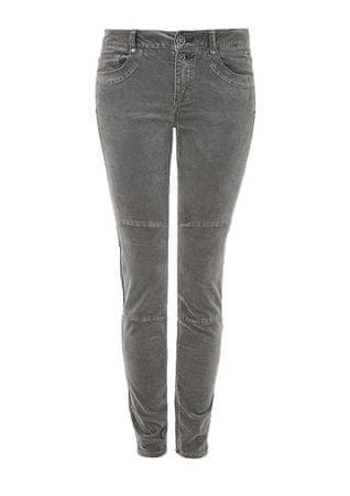 s.Oliver dámské jeansy skinny 36/30 šedá