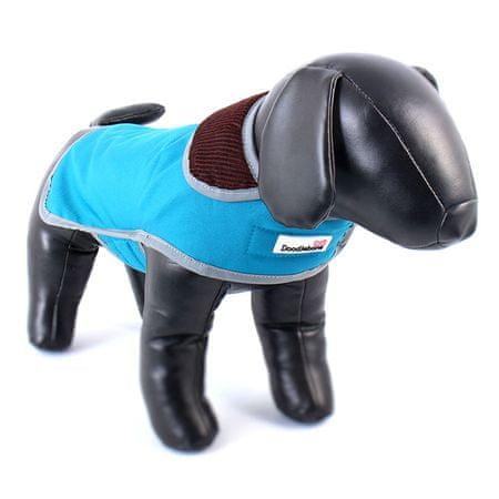 Doodlebone przeciwdeszczowy kubraczek dla psa blue rozm XS