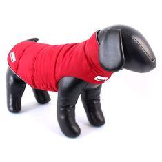 Doodlebone Obojstranná zimná bunda Red/Grey