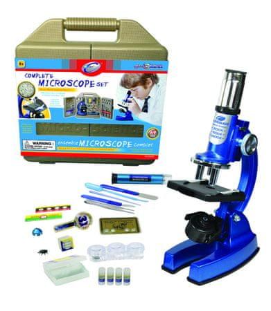 Alltoys Mikroskop sada v kufříku - zánovní