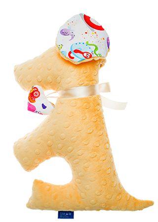 CuddlyZOO Dog Toy sárga