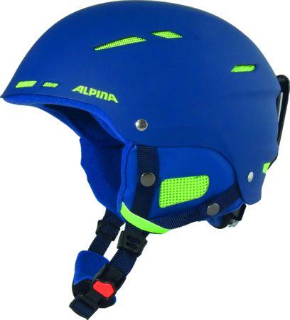 Alpina Sports smučarska čelada Biom, mat modra, 54-58