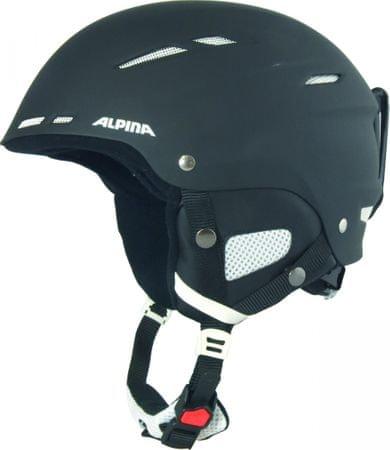 Alpina Sports smučarska čelada Biom, mat črna, 58-62