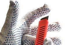 Červa Protiporézne rukavice Cropper Dots 8