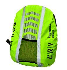 CRV Reflexný návlek na batoh Kadra žltá  UNI