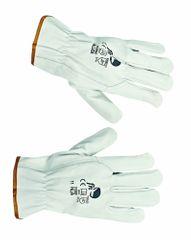 Free Hand Kožené pracovné rukavice Pallida 8