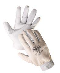 Červa Pracovné rukavice Pelican kombinované 8