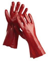 Cerva PVC pracovné rukavice Redstart (27 cm) 10