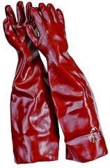 Free Hand Protichemické PVC rukavice Fulvus  10