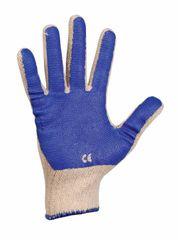 Cerva Pletené PVC pracovné rukavice Scoter 10