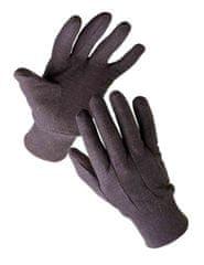 Cerva Bavlnené pracovné rukavice Finch 10