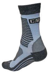 CRV Ponožky merino Melnick červená 39-40