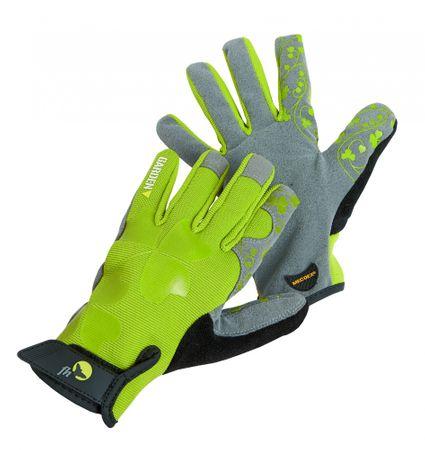 Free Hand Dámske pracovné rukavice Cristata zelená 8