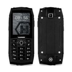 myPhone HAMMER 3, DualSIM, černý - zánovní
