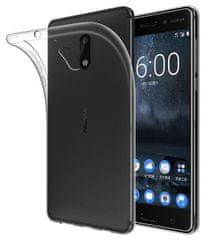 ultra tanek silikonski ovitek za Nokia 6, prozoren