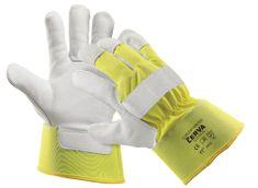 Červa Zimné pracovné rukavice Curlew žltá 10