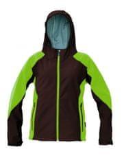 Červa Softshellová bunda Yowie dámska navy/fialová XS