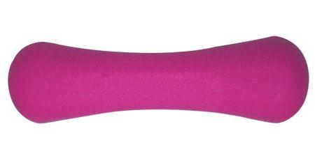 Avenio utežna ročka, neopren, 0,5 kg, vijolična