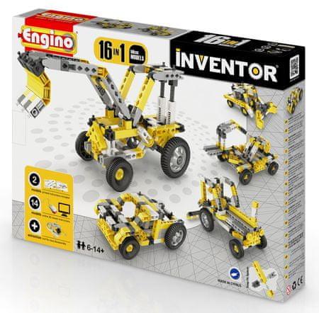 ENGINO Inventor munkagépek 16 in 1
