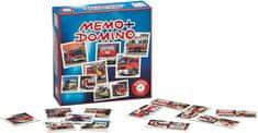 Piatnik Pexeso&Domino-Tűzoltó autók