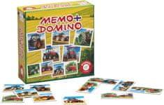 Piatnik Pexeso&Domino-Traktorok